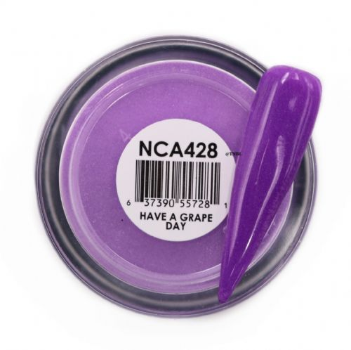 GLAM AND GLITS NAKED COLOR ACRYLIC - NCAC428 HAVE A GRAPE DAY